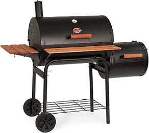 Offset Smoker with tray