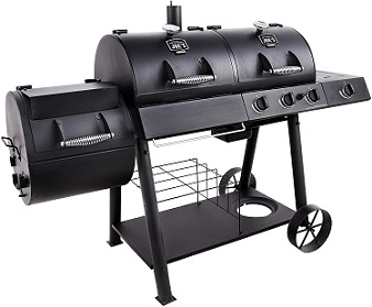 Best Gas Grill _Smoker Combo
