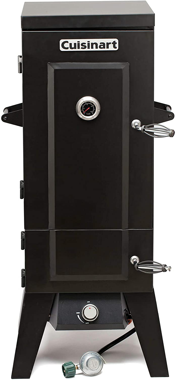 Cuisinart COS-244 Vertical 36 Propane Smoker, Black